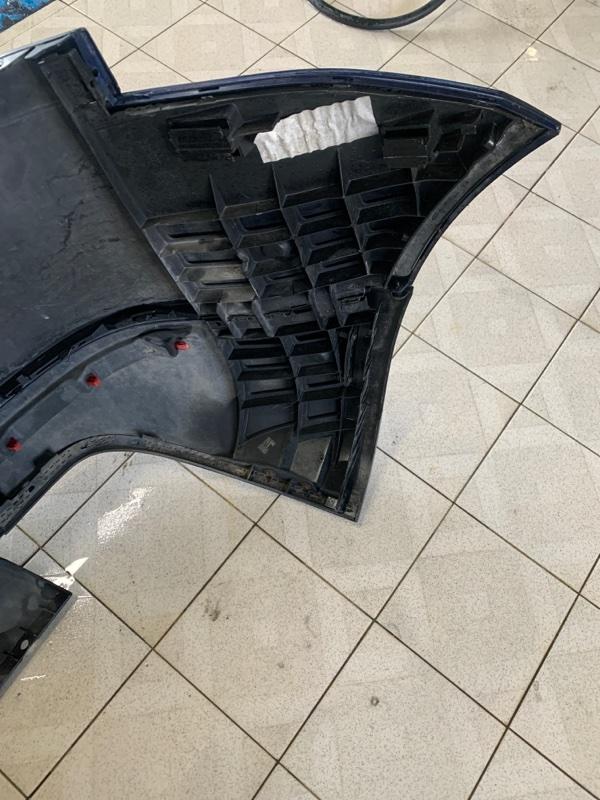Крепление бампера Volkswagen Touareg 7LA AXQ 2003 заднее левое (б/у)