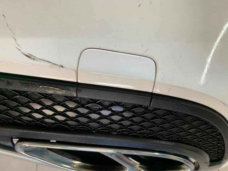Заглушка бампера Mercedes-Benz C-Class W205 276.823 2017 задняя (б/у)