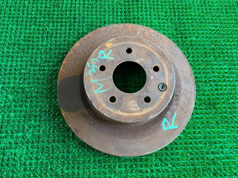 Диск тормозной Infiniti M35 Y50 VQ35DE 2006 задний (б/у)