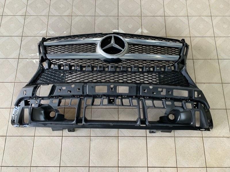 Решетка радиатора Mercedes-Benz Gl-Class X166 M278.928 2014 (б/у)