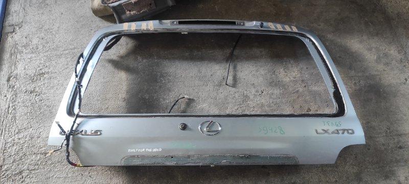 Дверь багажника Lexus Lx470 UZJ100 2UZFE 1998 (б/у)