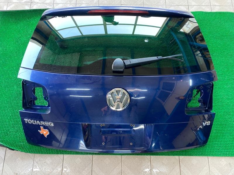 Дверь багажника Volkswagen Touareg 7LA AXQ 2003 (б/у)