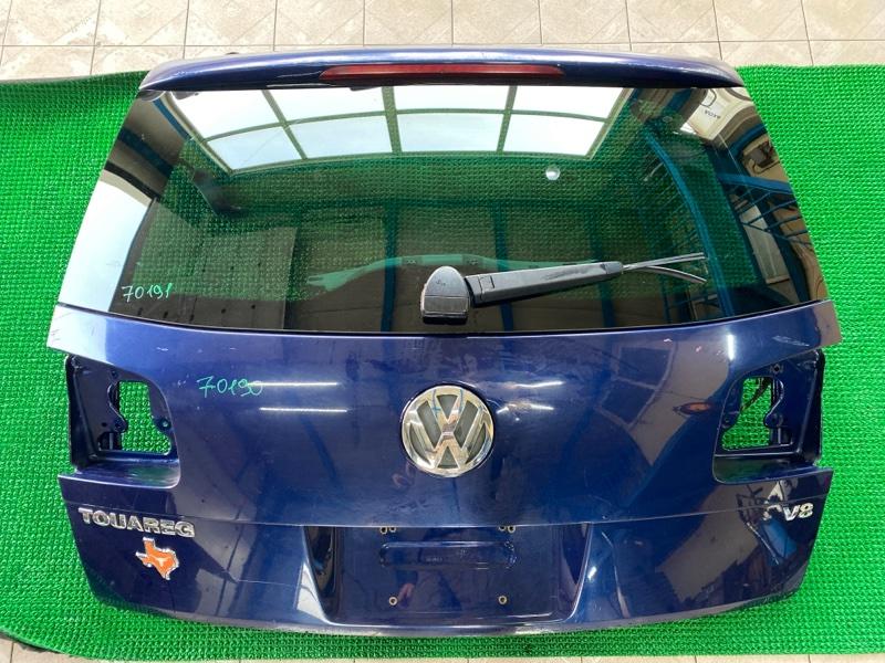Эмблема багажника Volkswagen Touareg 7LA AXQ 2003 (б/у)