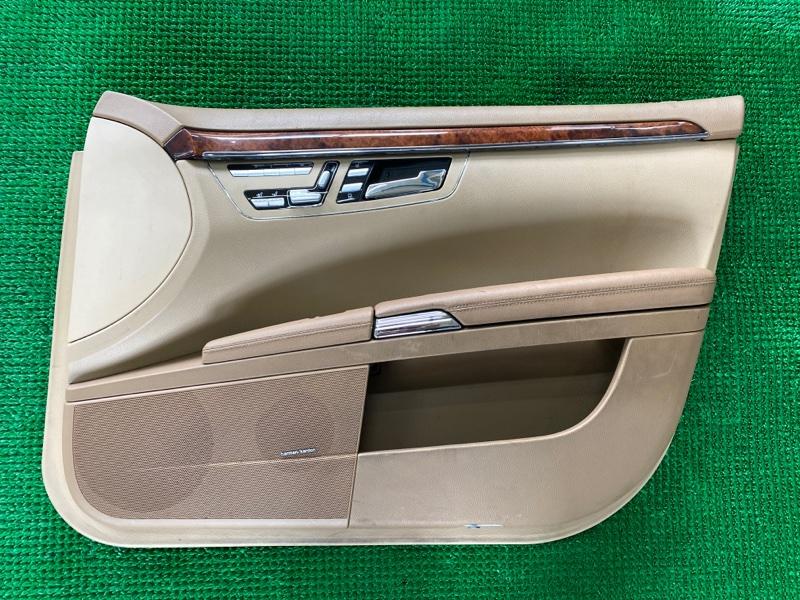 Обшивка двери Mercedes-Benz S-Class W221 M273E46 2007 передняя правая (б/у)