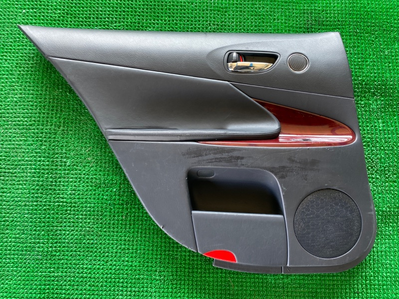 Обшивка двери Lexus Gs GRS196 3GRFSE 2007 задняя левая (б/у)