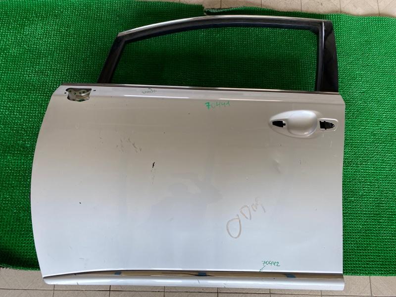 Уплотнитель двери Lexus Hs250H ANF10 2AZFXE 2008 передний левый (б/у)
