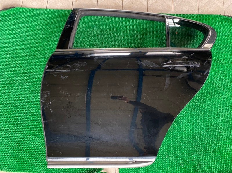 Молдинг стекла двери Lexus Gs GRS196 3GRFSE 2007 задний левый (б/у)