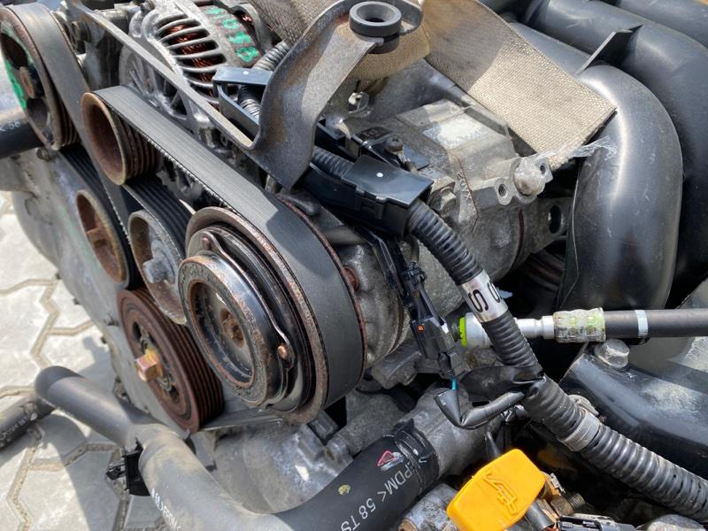 Компрессор кондиционера Subaru B9 Tribeca WXE EZ30 2004 (б/у)
