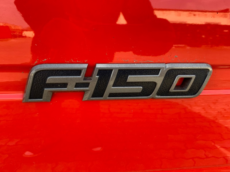 Эмблема багажника Ford F-150 6.2 OHC 2012 (б/у)
