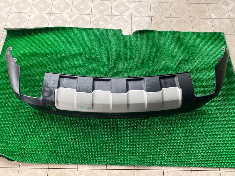 Накладка бампера Mercedes-Benz M-Class W164 M273E35 2006 задняя (б/у)
