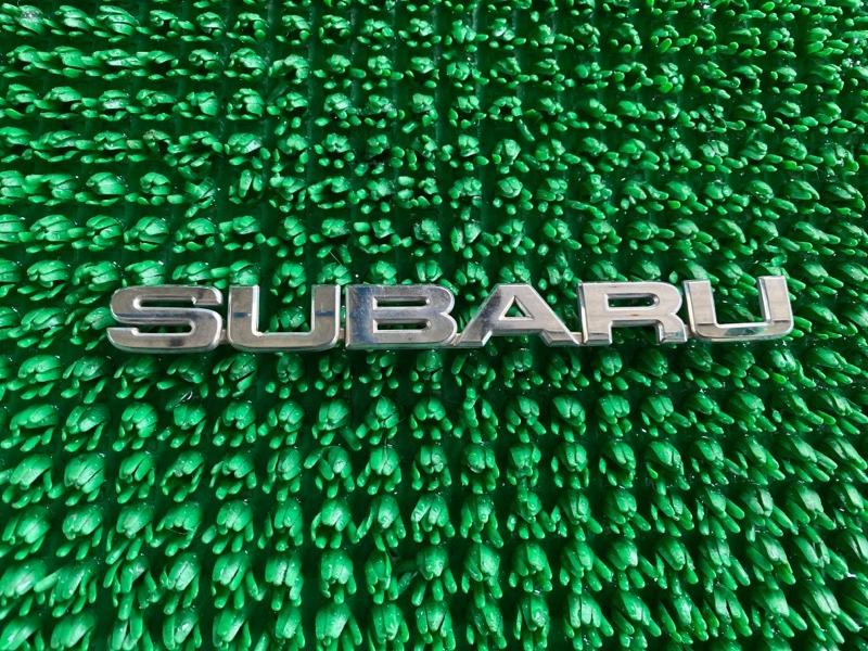 Эмблема багажника Subaru B9 Tribeca WXE EZ30 2006 (б/у)