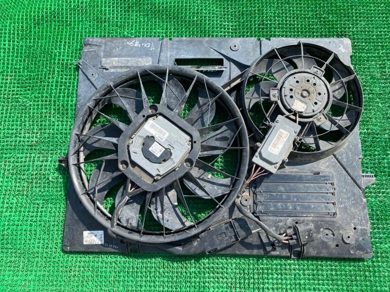 Вентилятор охлаждения радиатора Volkswagen Touareg 955 M48.00 2003 (б/у)