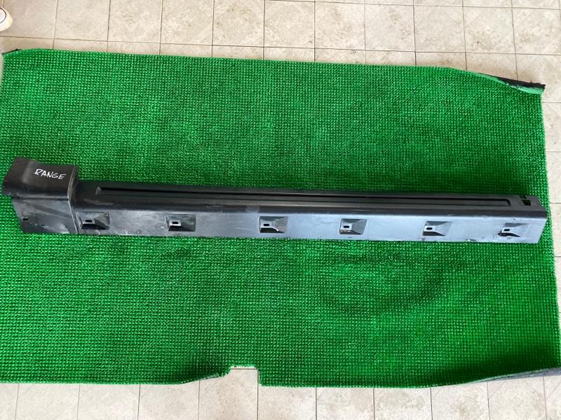 Накладка на порог Land Rover Range Rover Sport L320 448PN 2005 левая (б/у)