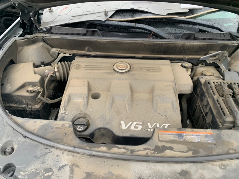 Двигатель Cadillac Srx 3GYFNEEY1BS579707 LF1 2009 (б/у)