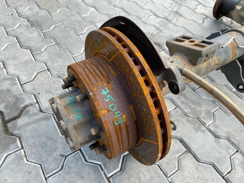 Колодки ручника Ford F250 1FTNX21P53ED86740 6.0 2003 задние левые (б/у)