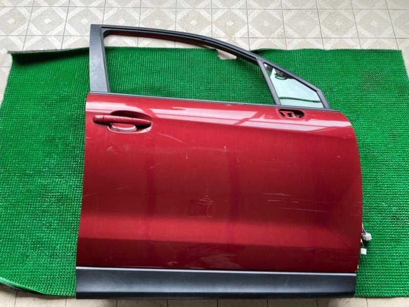 Стекло двери Subaru Forester SJ5 FB25 2013 переднее правое (б/у)