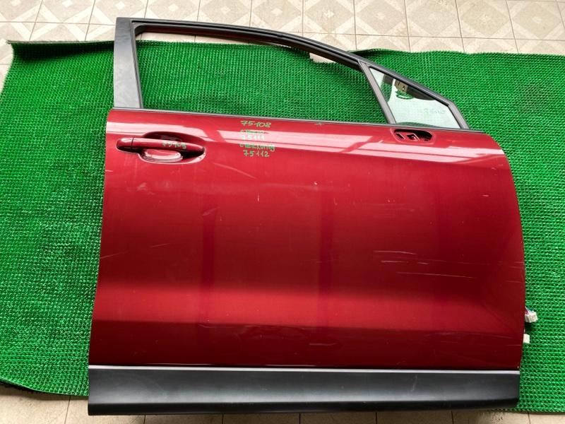 Молдинг двери Subaru Forester SJ5 FB25 2013 передний правый (б/у)