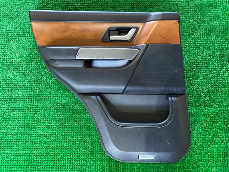 Обшивка двери Land Rover Range Rover Sport L320 448PN 2005 задняя левая (б/у)