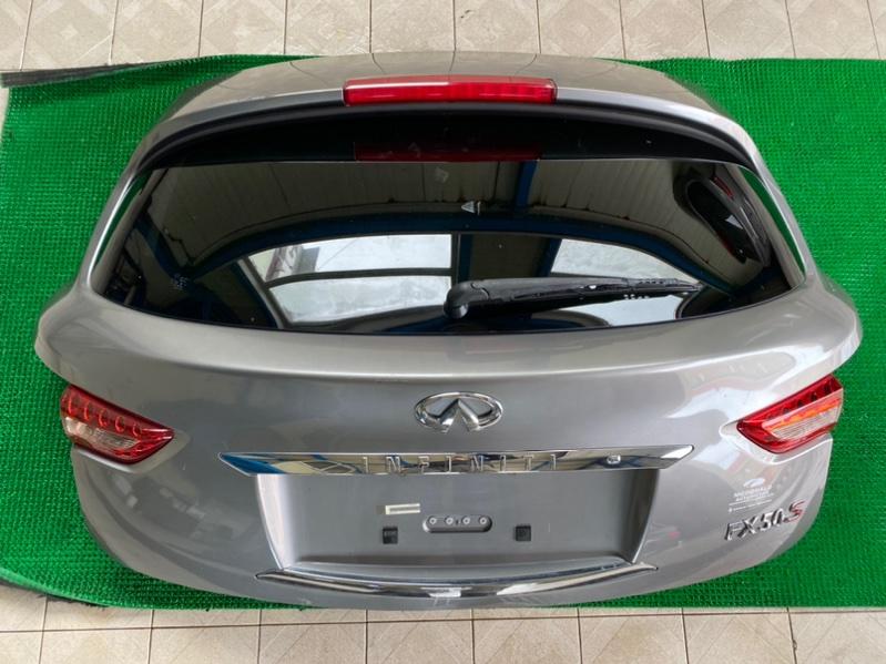 Дверь багажника Infiniti Fx35 S51 VQ35HR 2008 (б/у)