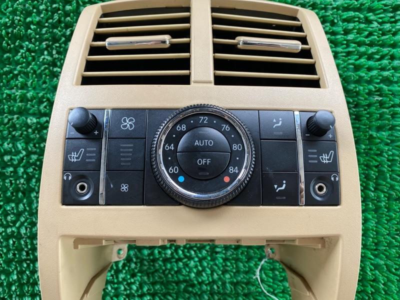 Блок управления климат-контролем Mercedes-Benz Gl-Class X164 M273E46 2006 задний (б/у)