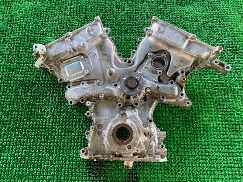 Лобовина двигателя Lexus Gs GWL10 2GRFXE 2014 (б/у)
