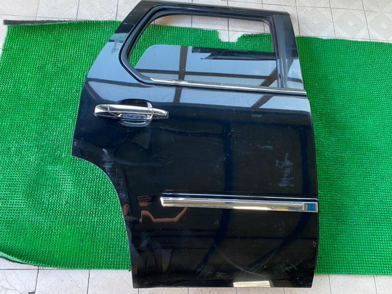 Молдинг двери Cadillac Escalade GMT900 L92 2008 задний правый (б/у)