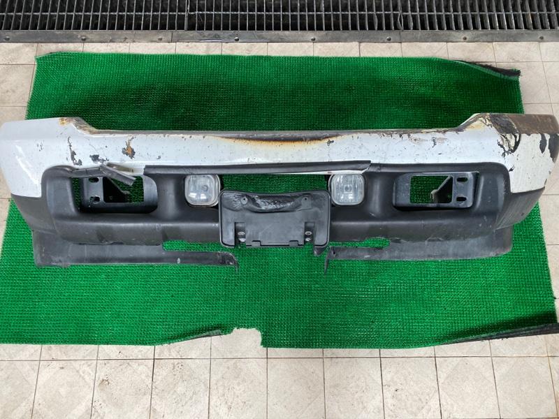 Бампер Ford F250 1FTNX21P53ED86740 6.0 2003 передний (б/у)