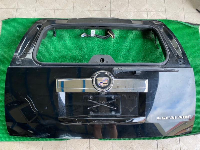 Обшивка двери багажника Cadillac Escalade GMT900 L92 2008 (б/у)