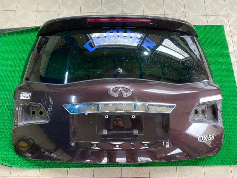 Накладка двери багажника Infiniti Qx56 Z62 VK56VD 2011 (б/у)