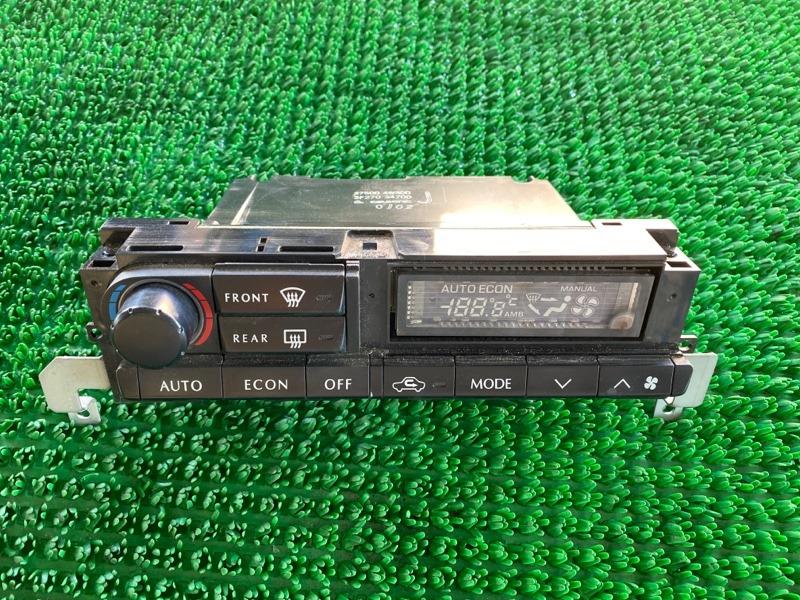 Климат контроль Infiniti Qx4 JR50 VQ35DE 1998 (б/у)