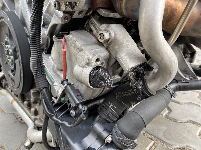 Компрессор кондиционера Audi Q7 4LB BAR 2006 (б/у)