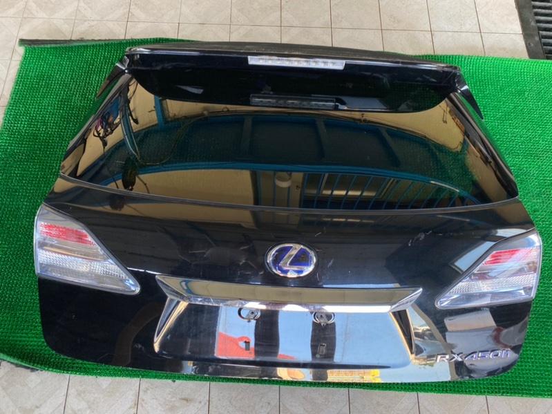 Датчик положения крышки багажника Lexus Rx450H GYL15 2GRFXE 2009 левый (б/у)