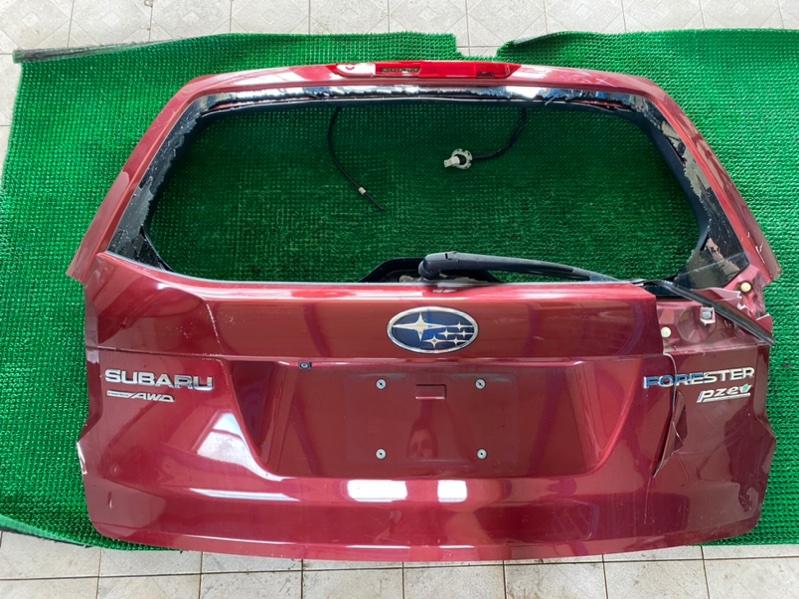 Подсветка номера Subaru Forester SJ5 FB25 2014 (б/у)