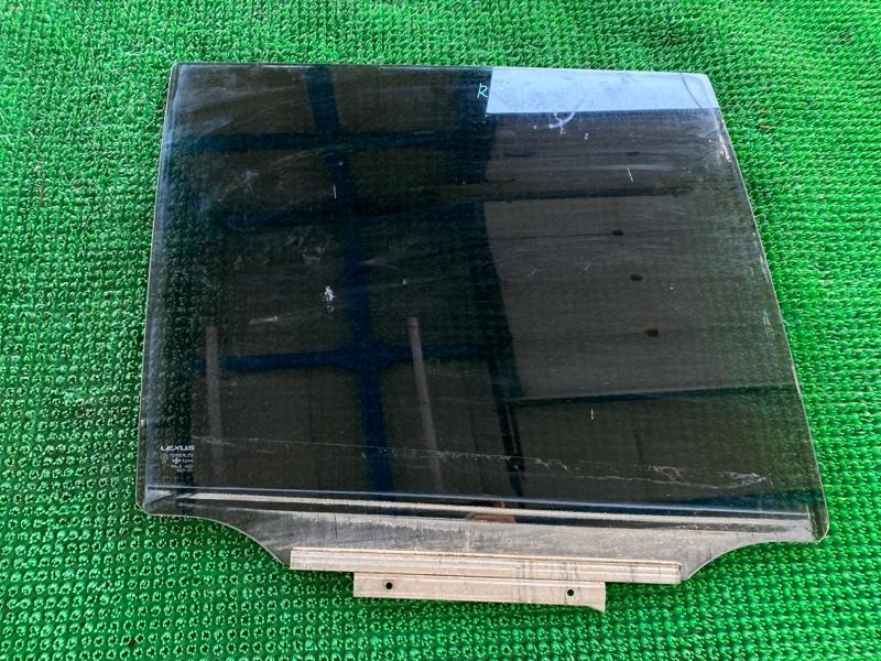 Стекло двери Lexus Gx470 UZJ120 2UZFE 2002 заднее правое (б/у)