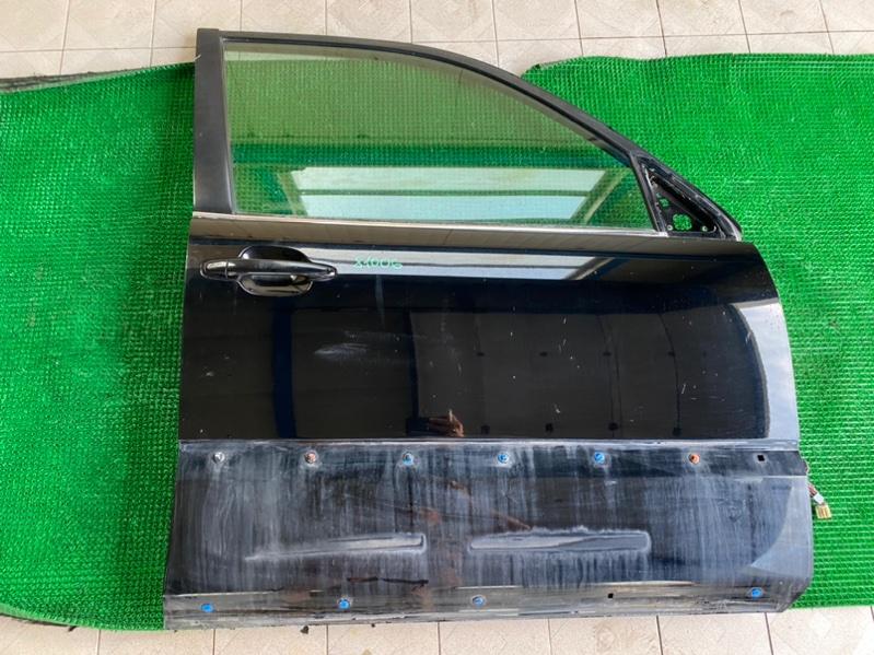 Молдинг стекла двери Lexus Gx470 UZJ120 2UZFE 2002 передний правый (б/у)