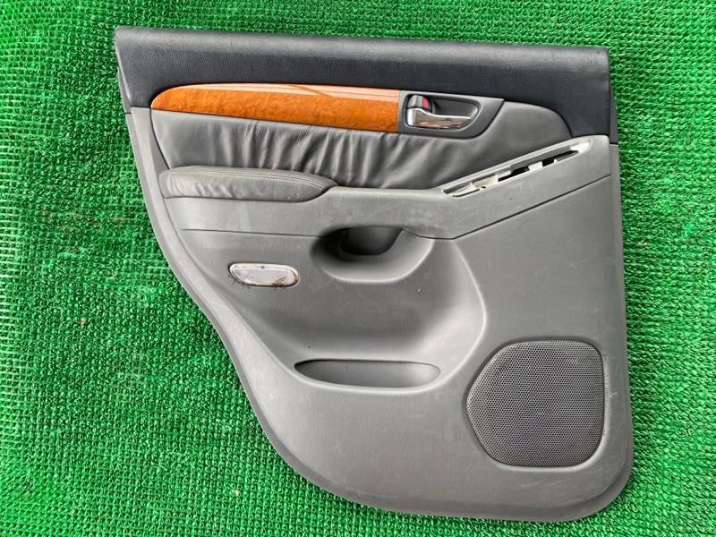 Подлокотник Lexus Gx470 UZJ120 2UZFE 2002 задний левый (б/у)