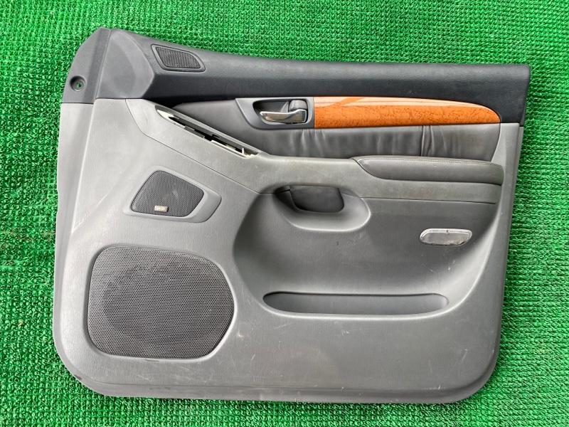 Обшивка двери Lexus Gx470 UZJ120 2UZFE 2002 передняя правая (б/у)