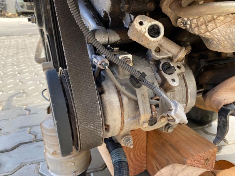 Компрессор кондиционера Toyota Tundra USK56 3URFE 2007 (б/у)