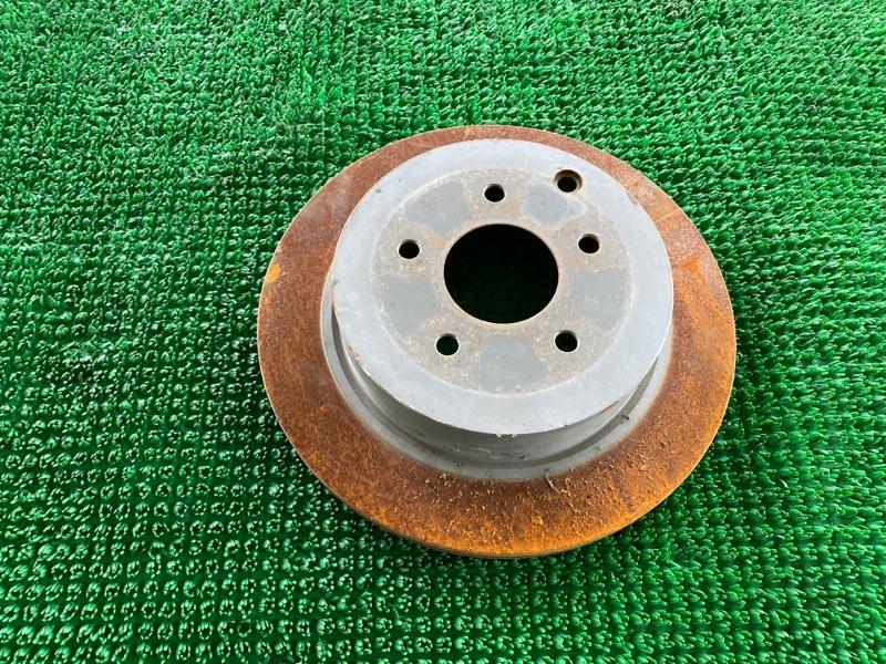 Диск тормозной Infiniti Fx35 S51 VQ35HR 2008 задний (б/у)