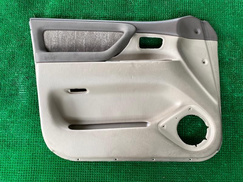 Обшивка двери Toyota Land Cruiser UZJ100 2UZFE 1998 передняя левая (б/у)