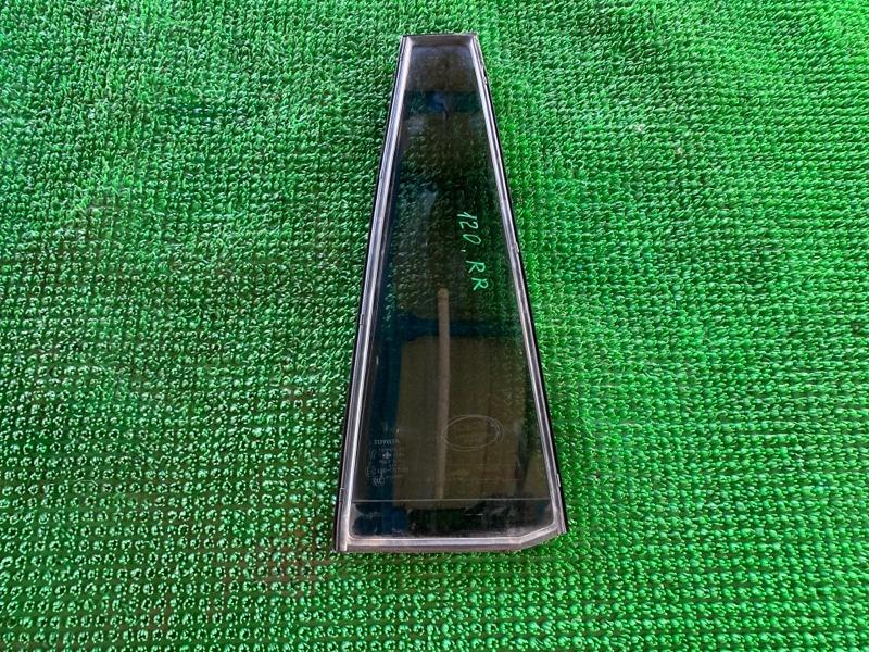 Форточка двери Lexus Gx470 UZJ120 2UZFE 2002 задняя правая (б/у)