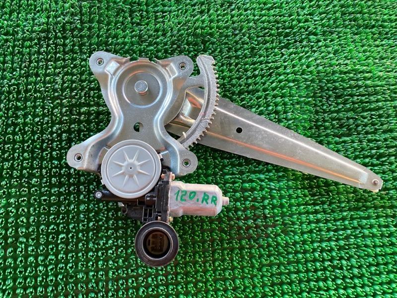 Стеклоподъемник Lexus Gx470 UZJ120 2UZFE 2002 задний правый (б/у)