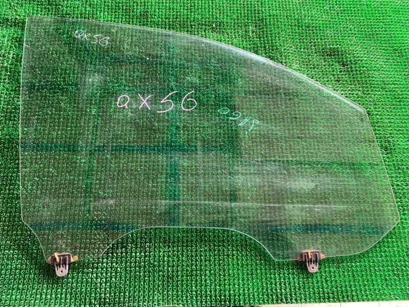 Стекло двери Infiniti Qx56 JA60 VK56DE 2006 переднее правое (б/у)