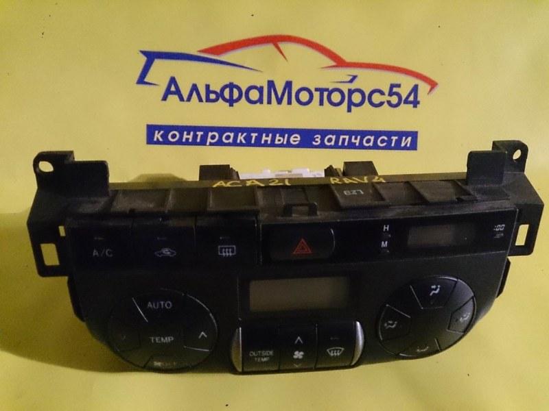 Климат-контроль Toyota Rav4 ACA21W 2004