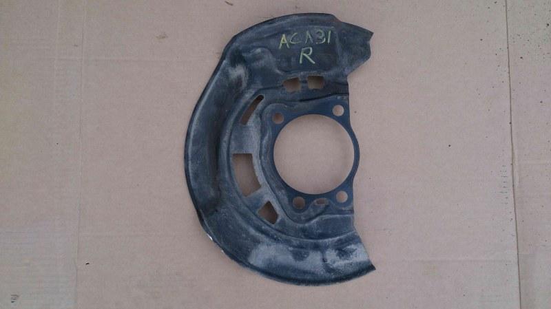 Кожух тормозного диска Toyota Rav4 ACA31W передний правый