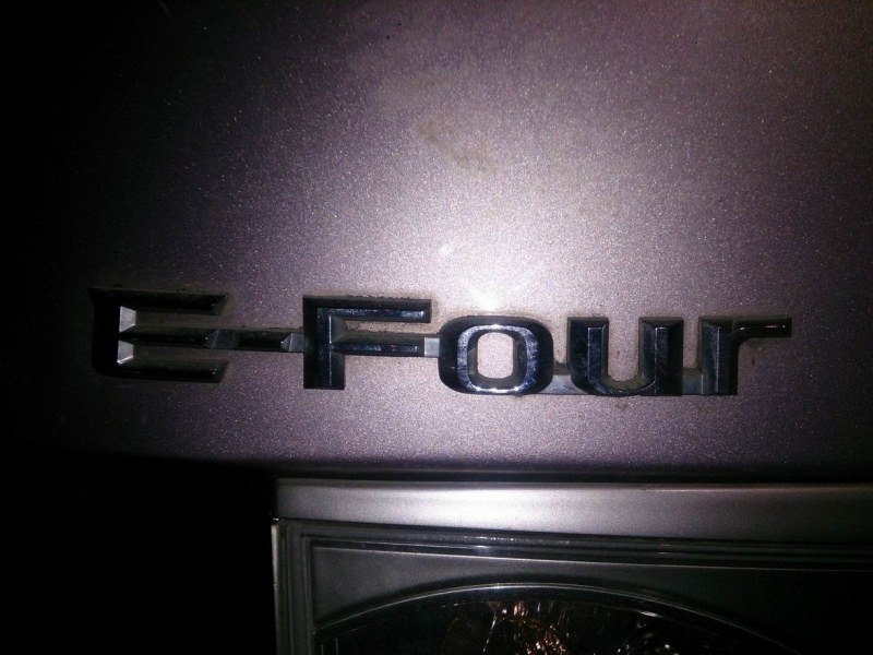 Эмблема Toyota Estima AHR10 задняя