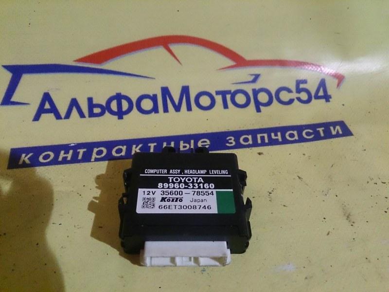 Блок управления фарами Toyota Camry ACV40 2AZ-FE