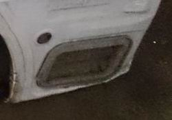 Воздуховод вентиляции салона Toyota Corolla Fielder задний левый