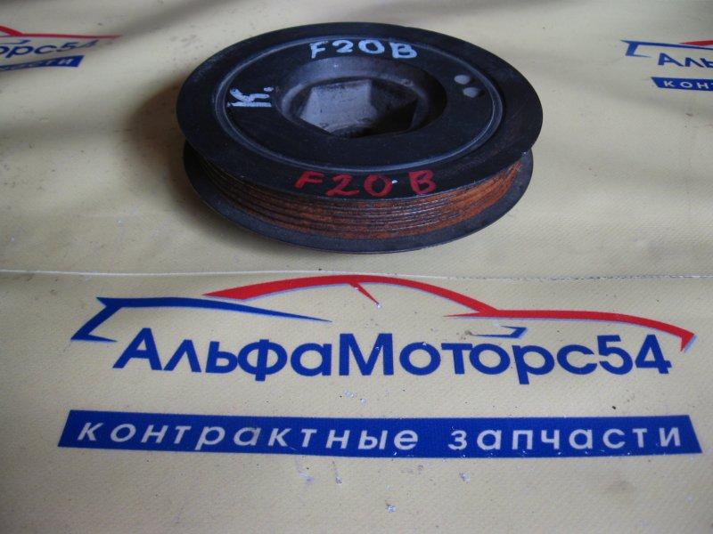 Шкив коленвала Honda Accord CF4 F20B