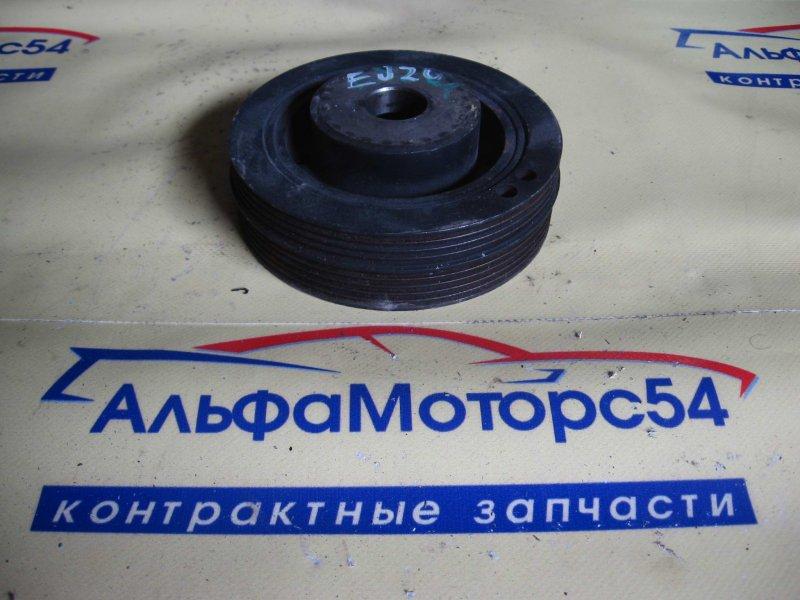 Шкив коленвала Subaru Forester SG5 EJ205